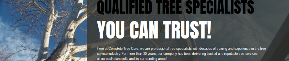 Indianapolis Tree Care 317-783-2518